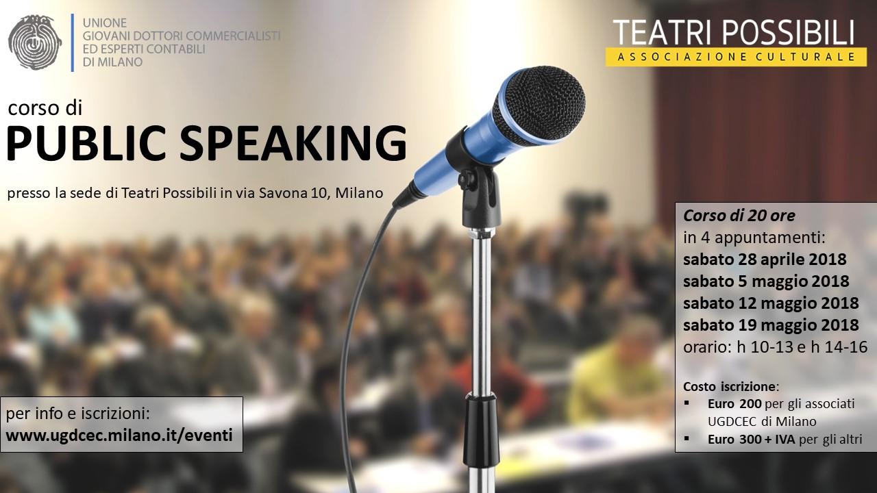 Corso-Public-Speaking-Locandina